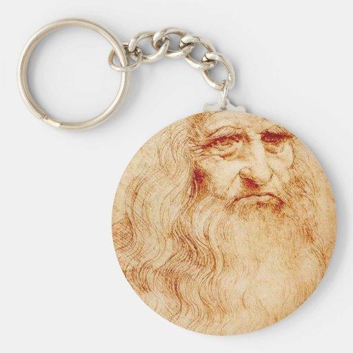 Leonardo da Vinci, uno mismo-retrato pretendido Llavero