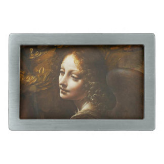 Leonardo da Vinci Virgin of the Rocks Angel Rectangular Belt Buckle