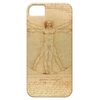 Leonardo Da Vinci Vitruvian Man iPhone 5 Cover