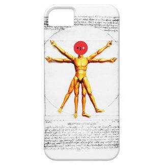 Leonardo da Vinci - Vitruvian Man iPhone SE/5/5s Case