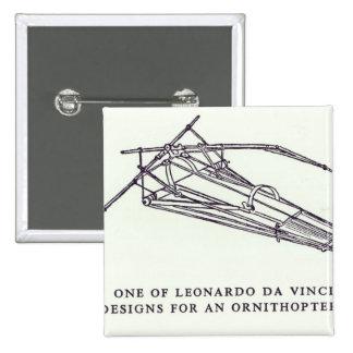Leonardo da Vinci's designs for an Ornithopter Button