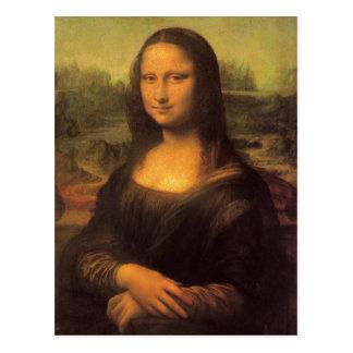 Leonardo Da Vinci's Mona Lisa Postcard