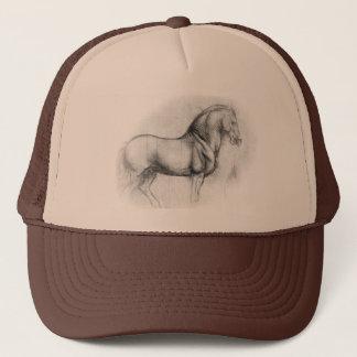 Leonardo DaVinci Horse Cap