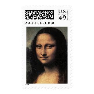 Leonardo DaVinci - Mona Lisa Stamp