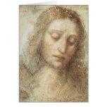 Leonardo DaVinci - The Christ Greeting Card