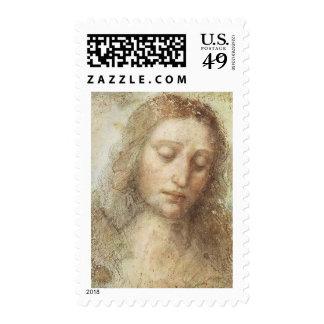 Leonardo DaVinci - The Christ Postage Stamps