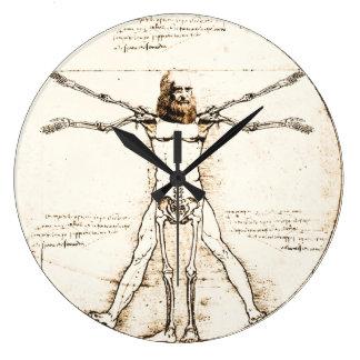 Leonardo DaVinci Vitruvian Clock