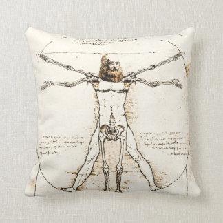 Leonardo DaVinci Vitruvian Pillow