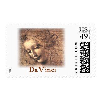 Leonardo DaVinci - Woman Postage Stamp