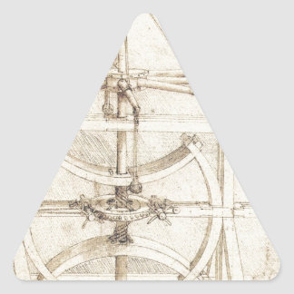Leonardo Invention Triangle Sticker