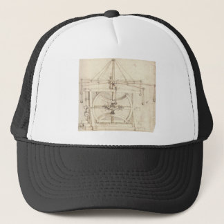 Leonardo Invention Trucker Hat