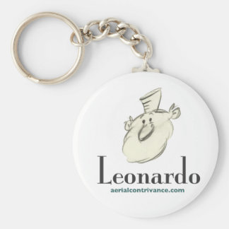 Leonardo Keychain