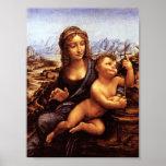 Leonardo - Madonna de fucchi Poster
