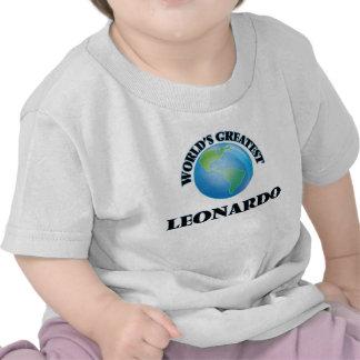 Leonardo más grande del mundo camisetas
