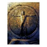Leonardo - tarjeta postal