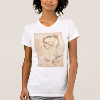 Leonardo Vinci- Comparison of scalp skin and onion T-shirt