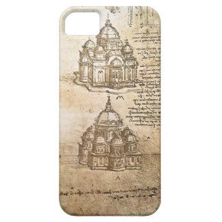 Leonardo Vinci- Studies of central plan buildings iPhone 5 Covers