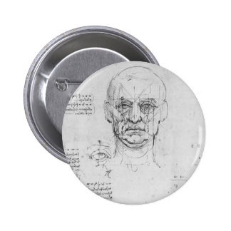 Leonardo Vinci:Study on proportions of head,eyes Pin