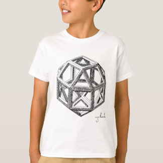 Leonardo's Polyhedra T-Shirt