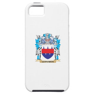 Leonards Coat of Arms - Family Crest iPhone 5/5S Cases