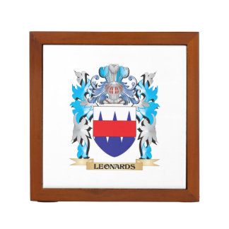 Leonards Coat of Arms - Family Crest Pencil Holder