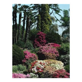 Leonardslee gardens, West Sussex, England Custom Flyer