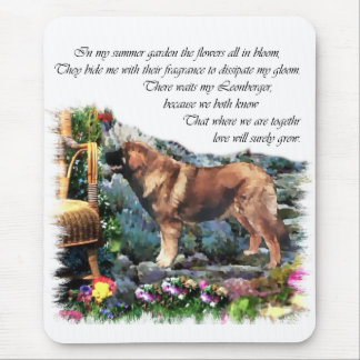 Leonberger Art Gifts Mouse Pad