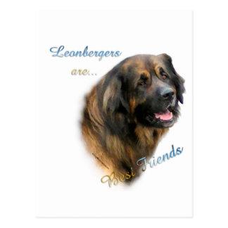 Leonberger Best Friend 2 Postcard
