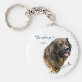 Leonberger Best Friend Keychain
