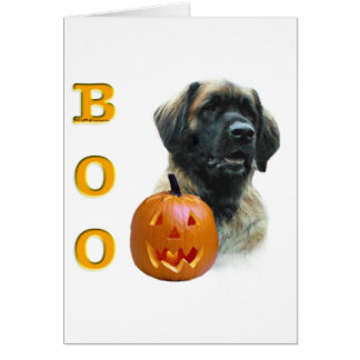 Leonberger Boo Card