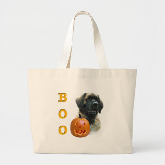 Leonberger Boo Large Tote Bag