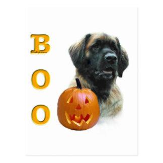 Leonberger Boo Postcard