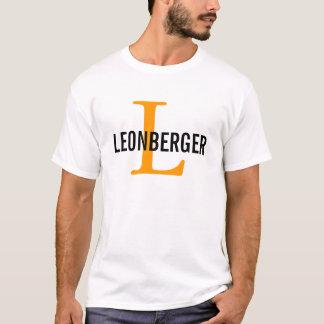 Leonberger Breed Monogram Design T-Shirt