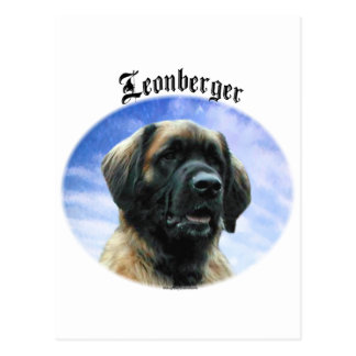 Leonberger Clouds Postcard