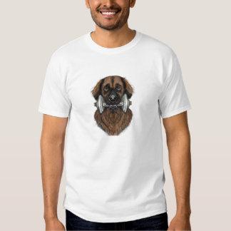Leonberger con el dumbell camisas