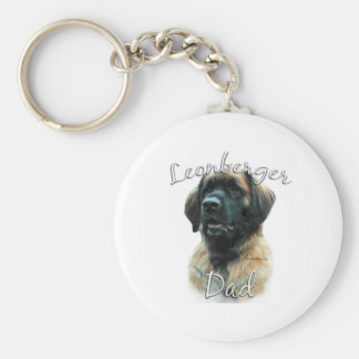 Leonberger Dad 2 Keychain