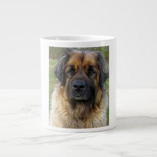 Leonberger dog beautiful photo portrait, gift large coffee mug
