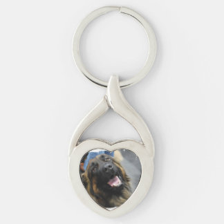 Leonberger Dog Breed Key Chain