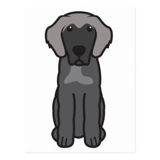 Leonberger Dog Cartoon Postcard