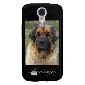 Leonberger dog iphone 3G case, beautiful photo Samsung Galaxy S4 Case