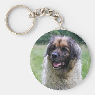 Leonberger dog keychain, keyring gift idea keychain