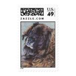 Leonberger Fine Art Postage Stamp