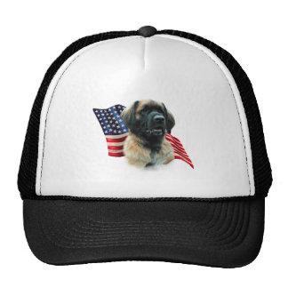 Leonberger Flag Trucker Hat