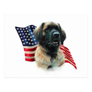 Leonberger Flag Postcard