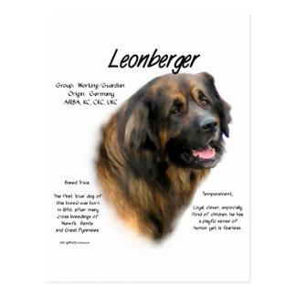 Leonberger History Design Postcard