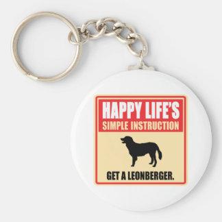 Leonberger Keychain