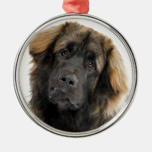 Leonberger Metal Ornament