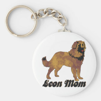 Leonberger Mom Keychain