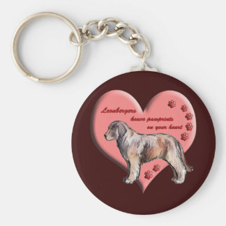 Leonberger Paws Keychains