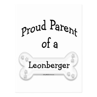 Leonberger Proud Parent Postcard